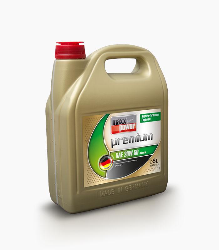 Mineralic Oil 20W-50
